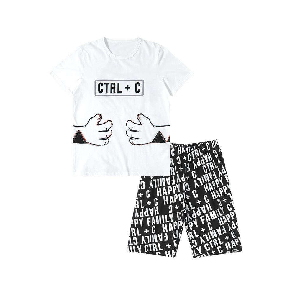 6397ce1206 Pijama Tigor T. Tigre Branco Adulto - lojamarisol
