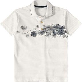 Camisa Pólo Tigor T. Tigre Bege