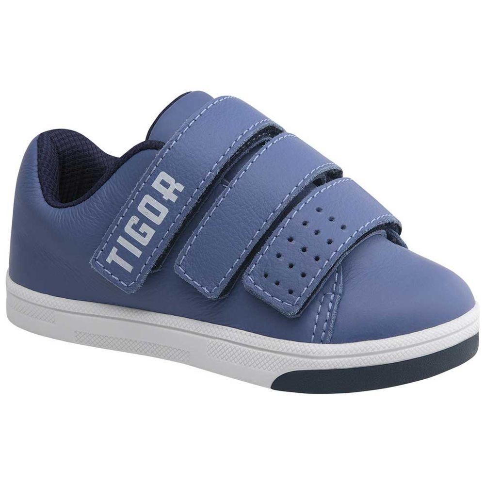 a761adc46 Tênis Tigor T. Tigre Baby Azul - lojamarisol