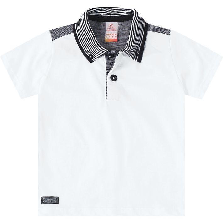 1f13e6c8da Camisa Pólo Marisol Baby Branco - lojamarisol