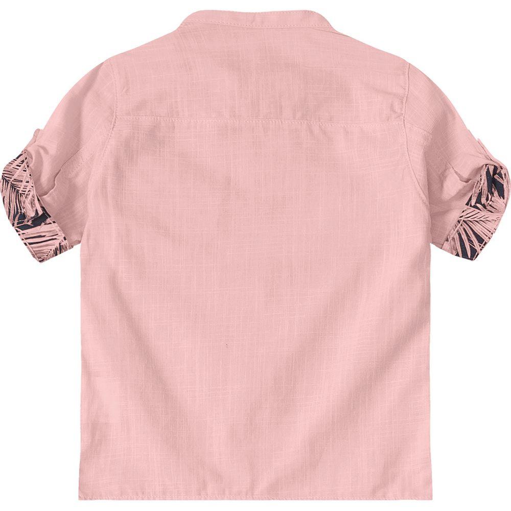 40fb28bbf1 Camisa Tigor T. Tigre de Botão Baby Rosa - lojamarisol