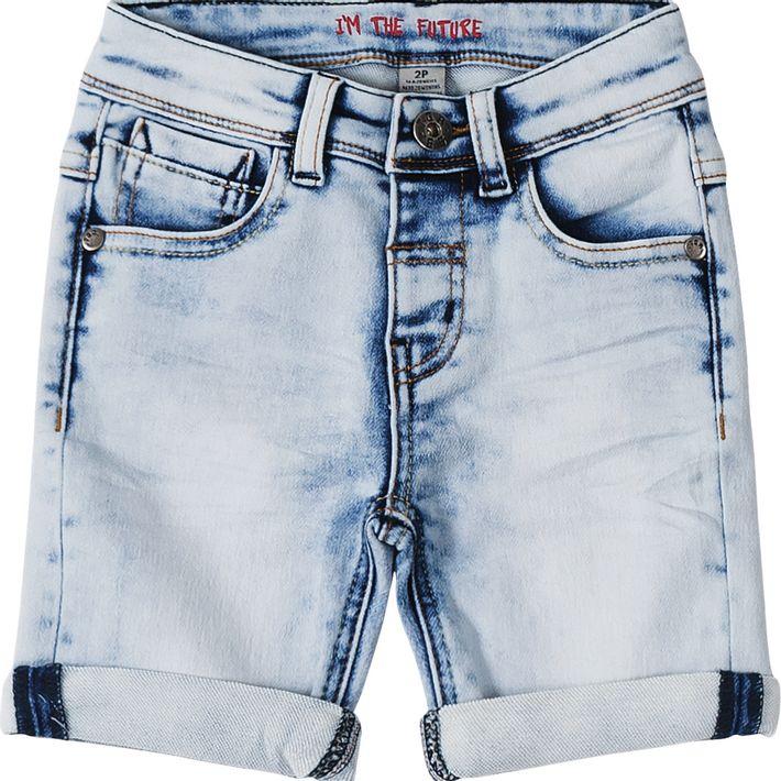 Bermuda Moletom Tigor T. Tigre Baby Jeans - lojamarisol 5fc4ff2816a