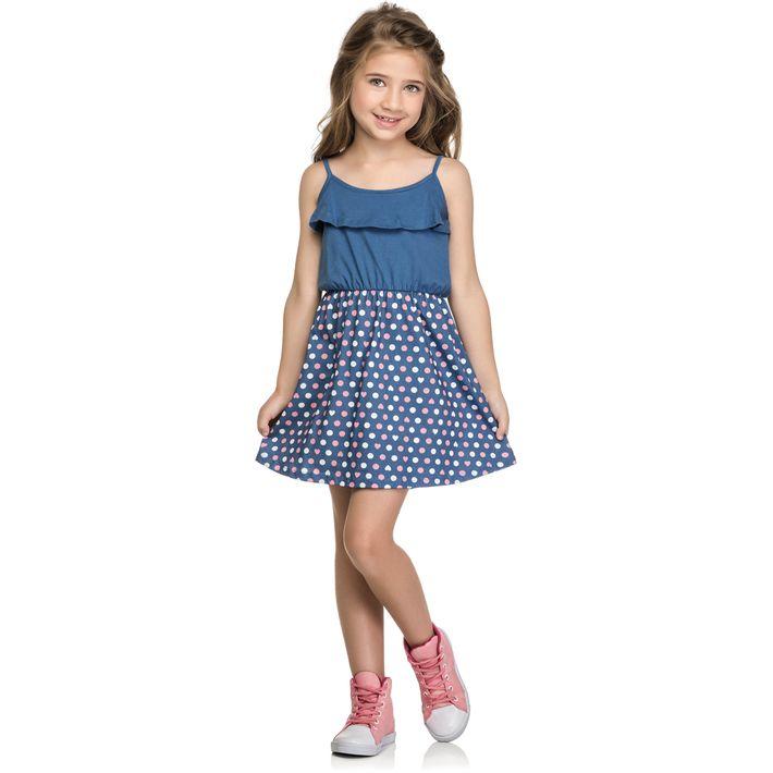 Vestido-Mineral-Kids-Baby-Azul