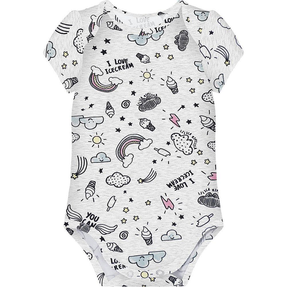 6554c04340 Body Baby Lilica Ripilica Branco - lojamarisol