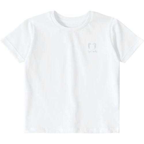 be5bc3133d Camiseta Tigor T. Tigre Baby Branca - lojamarisol