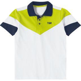 Camisa Pólo Tigor T. Tigre Branca