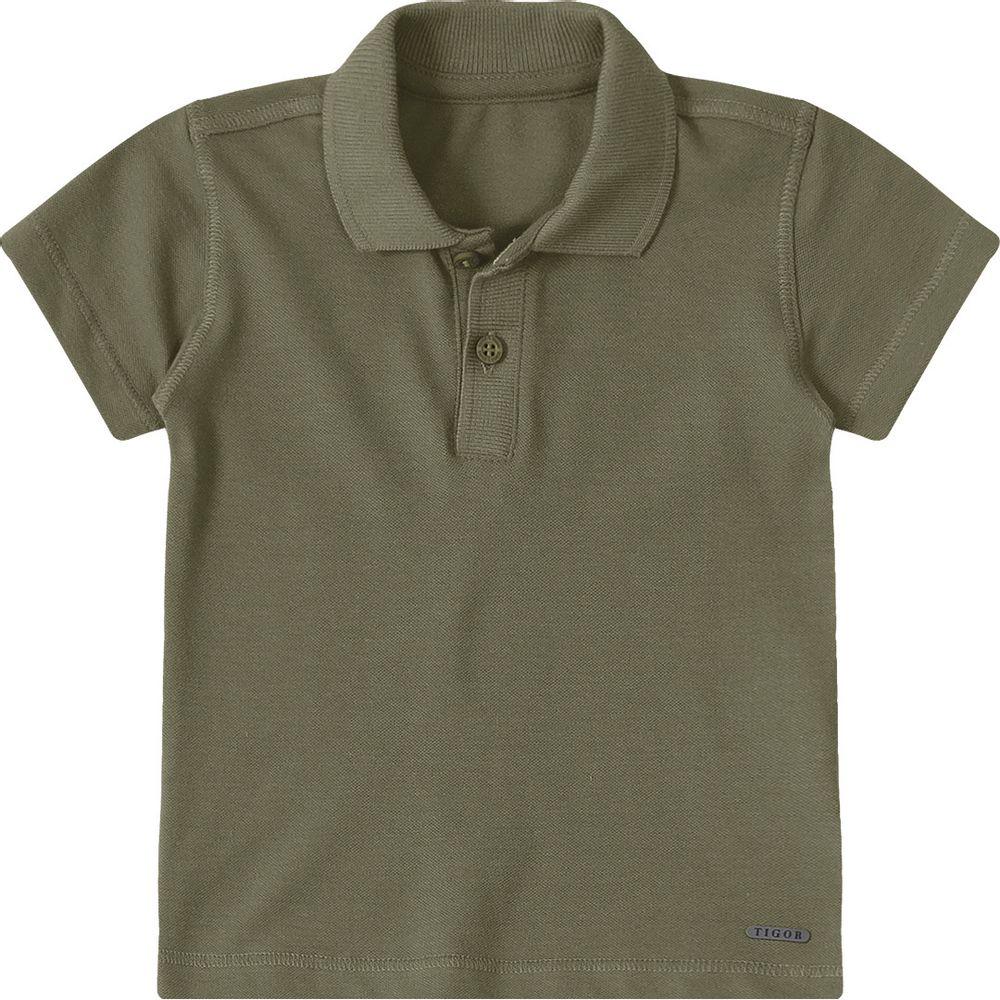 0113a5d36e Camisa Pólo Baby Tigor T. Tigre Verde - lojamarisol