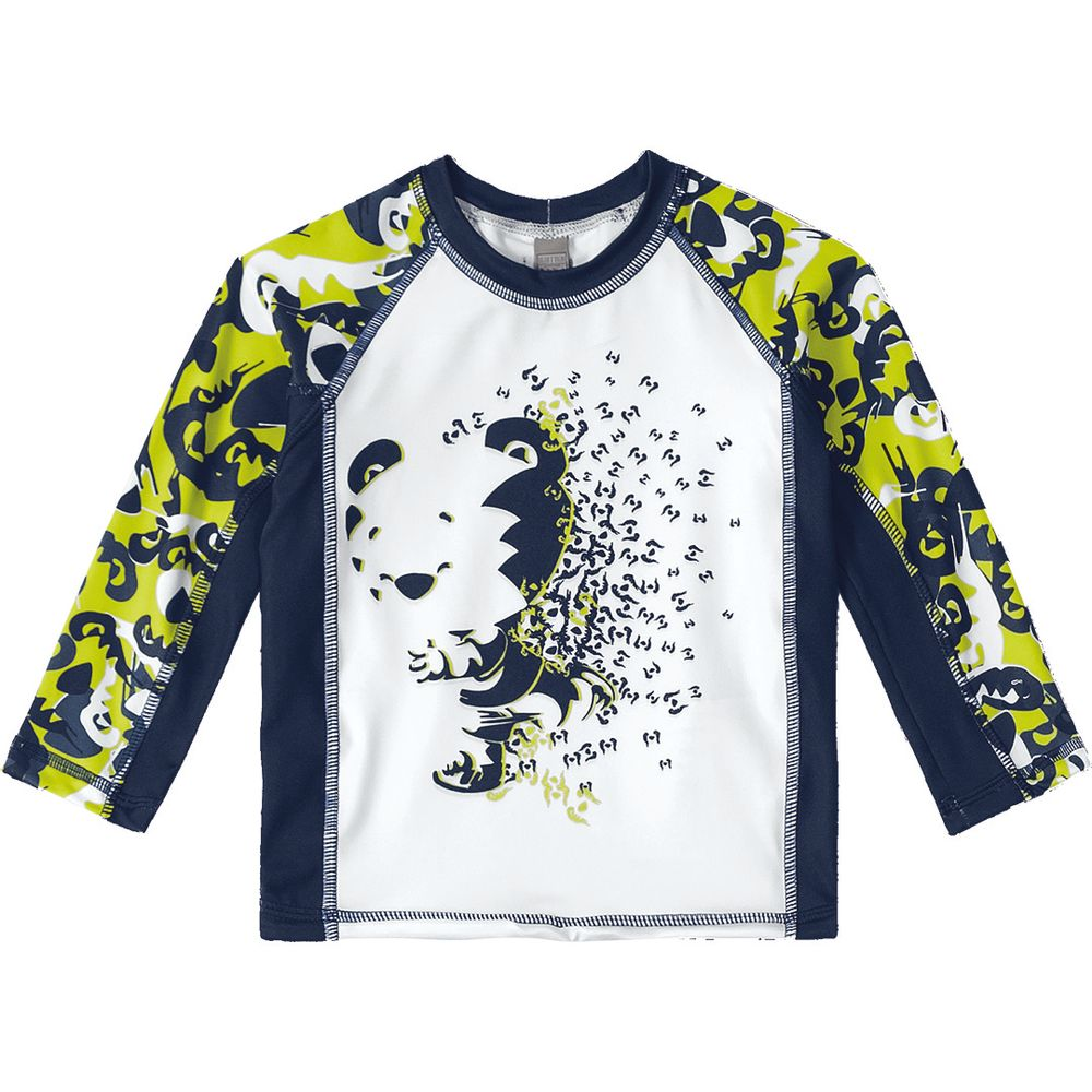 d59e71107523 Camiseta de Praia Tigor T. Tigre Baby Branca - lojamarisol