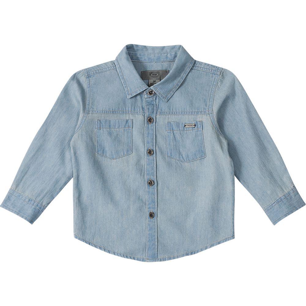 795652d7d1 Camisa Tigor T. Tigre Jeans - lojamarisol