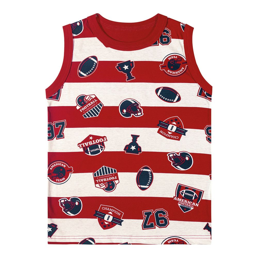 9ded00c5b2e8f Camiseta Regata Marisol Play Futebol Americano Menino - lojamarisol
