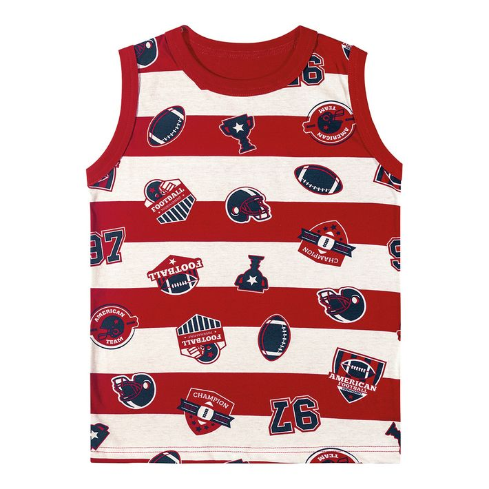 Camiseta Regata Marisol Play Futebol Americano Menino - lojamarisol 32d5625020707