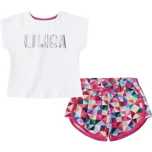 1e2f2df093 Conjunto Lilica Ripilica Rosa Bebê Menina - lojamarisol