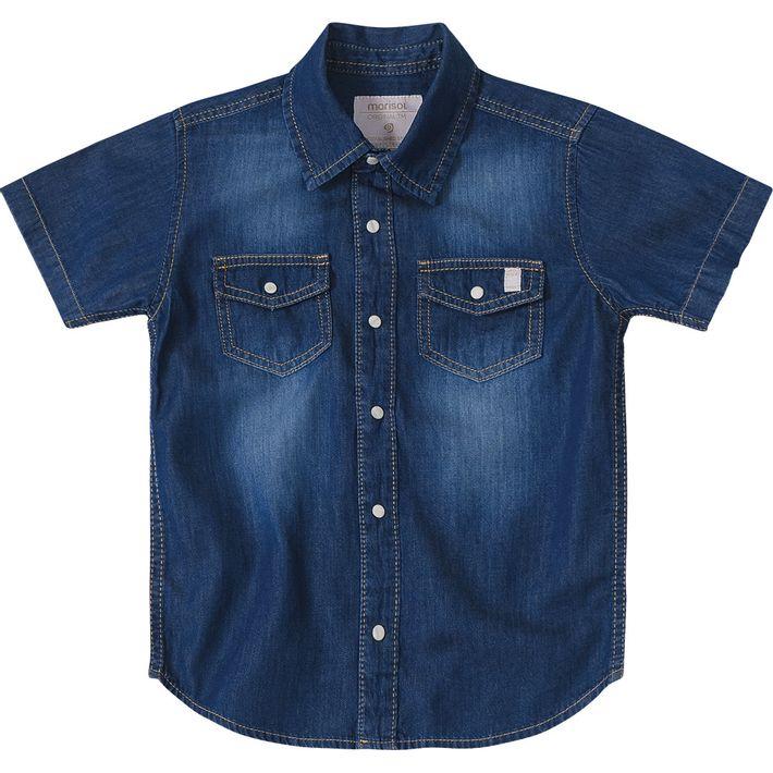 fa797329b6 Camisa Marisol Jeans Menino - lojamarisol