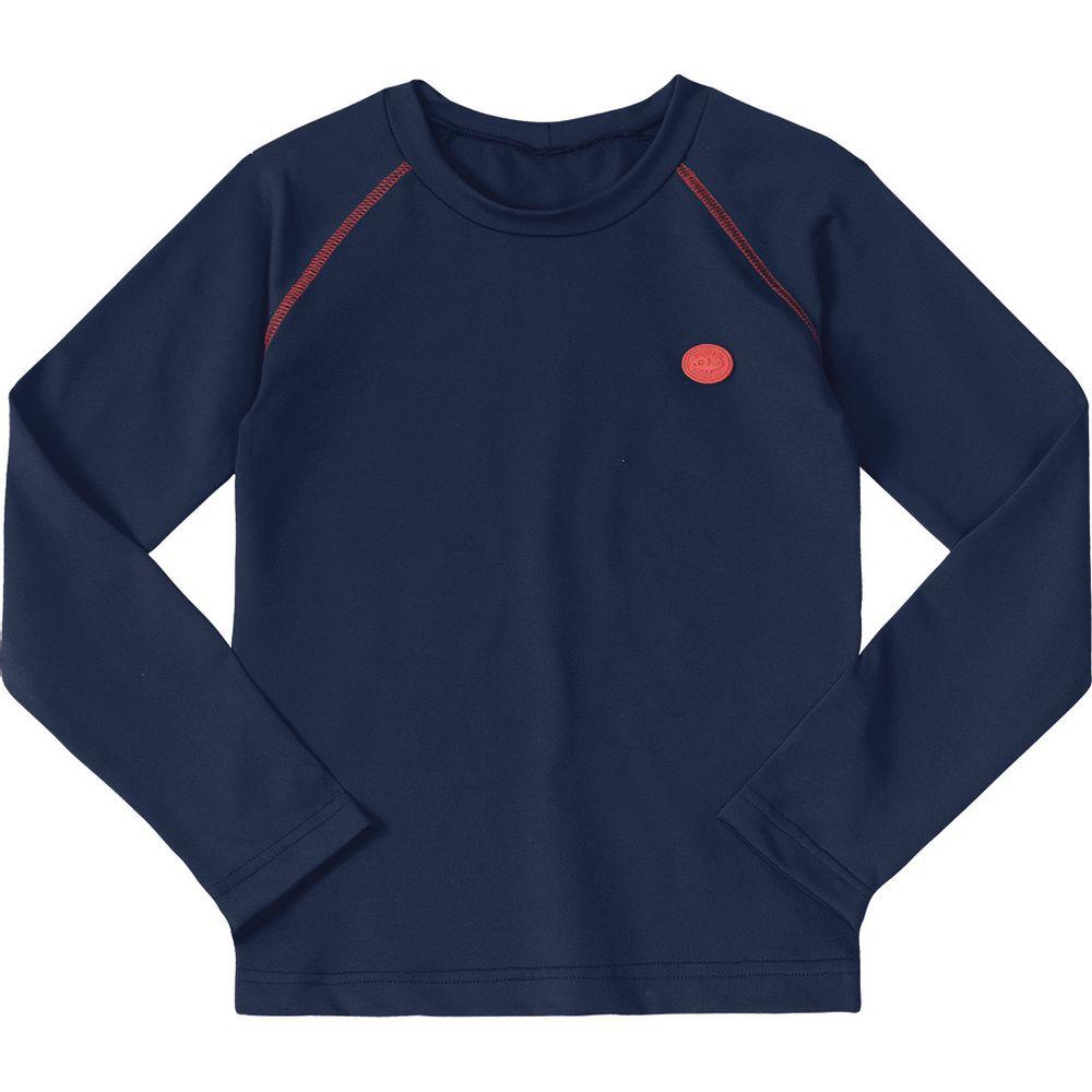 d586dd63e3c7 Camiseta Marisol Azul Menina - lojamarisol