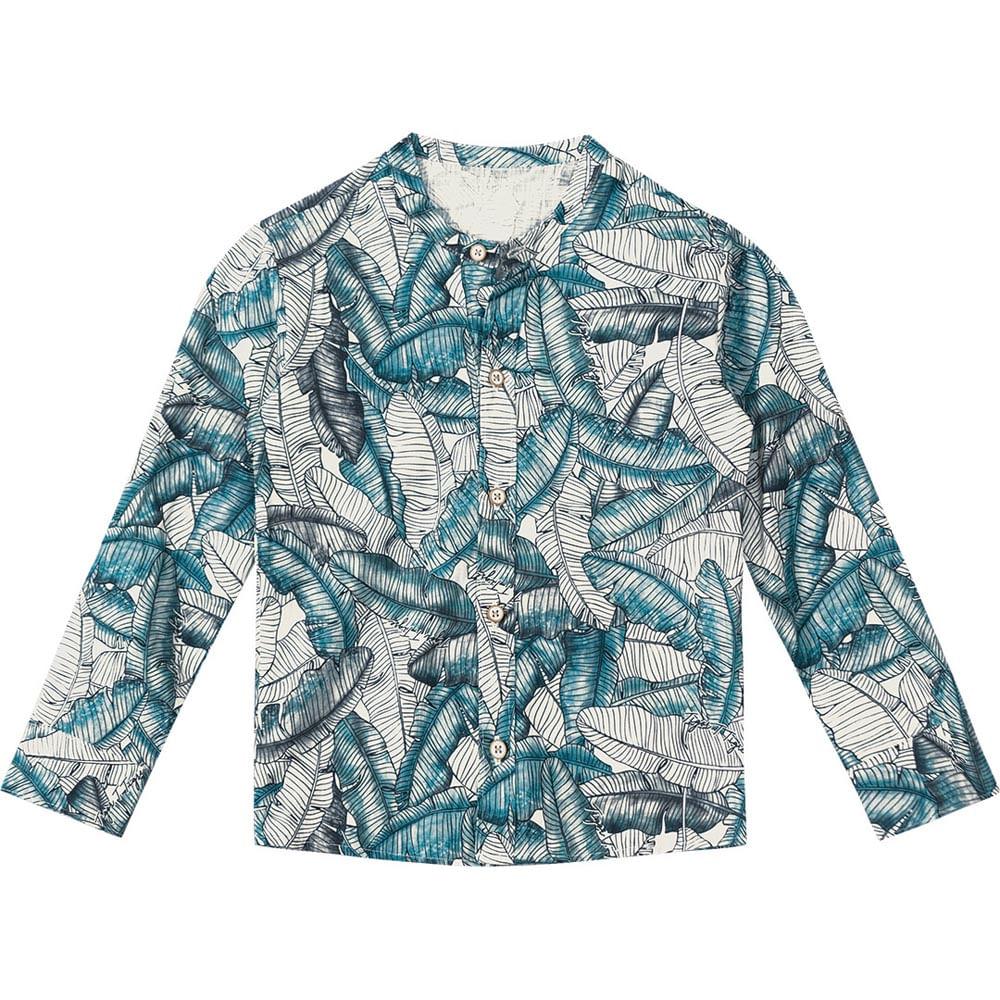 03ec4f8b67 Camisa Tigor T. Tigre Folhas Menino - lojamarisol