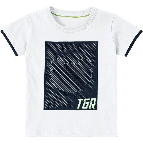 5c111b39c Camiseta Tigor T. Tigre Branca Bebê
