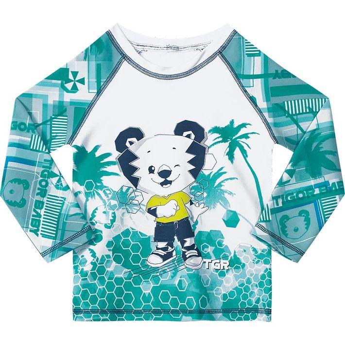 8b3929e5aa Camiseta Tigor T. Tigre Praia Bebê Menino - lojamarisol