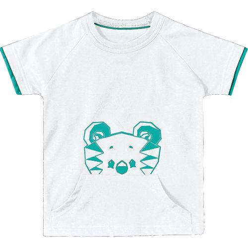 71566bb0c Camiseta Marisol Branca Menino - lojamarisol