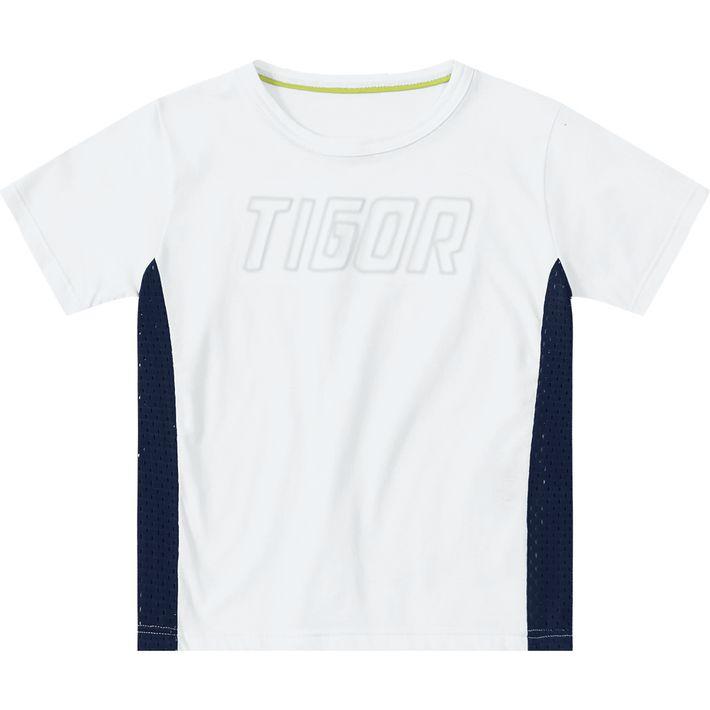Camiseta Tigor T. Tigre Branca Menino - lojamarisol ea08e37ed30