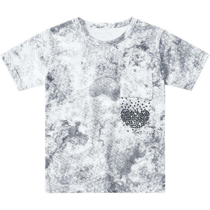 Camiseta Tigor T. Tigre Cinza Menino - lojamarisol 788bcb99326