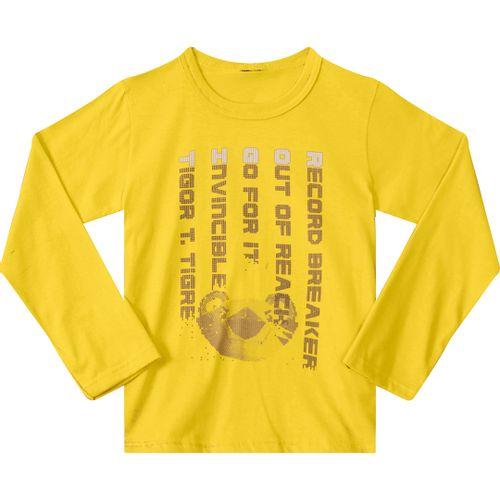 ec62982ed1 Camiseta Tigor T. Tigre Amarela Menino