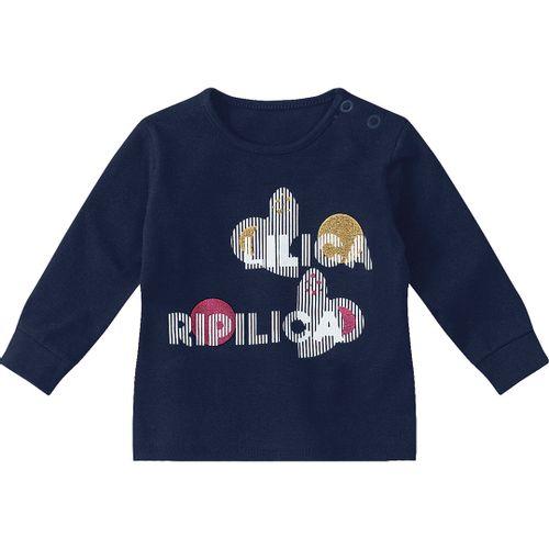 a42365d336 Blusa Lilica Ripilica Azul Bebê Menina
