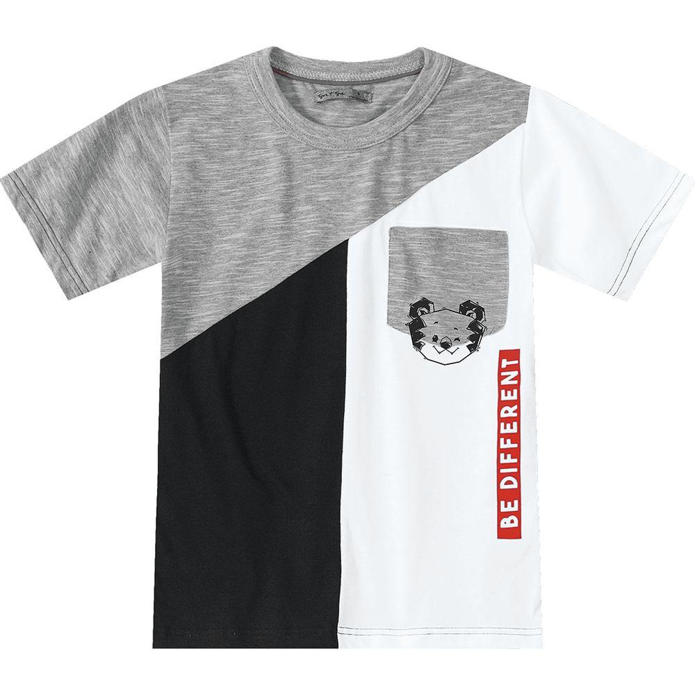 8af2453b95 Camiseta Tigor T. Tigre Branca Bebê Menino - lojamarisol
