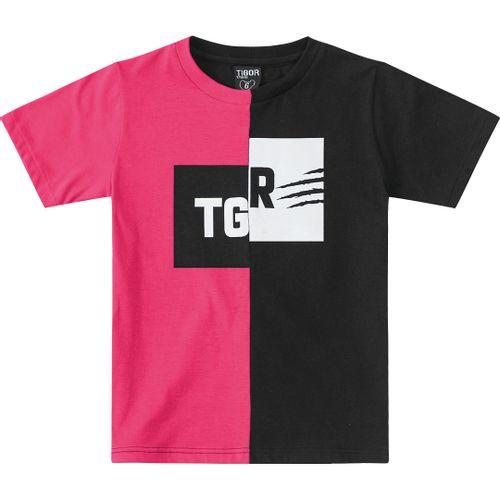 cfc22f1299 Camiseta Tigor T. Tigre Preta Menino