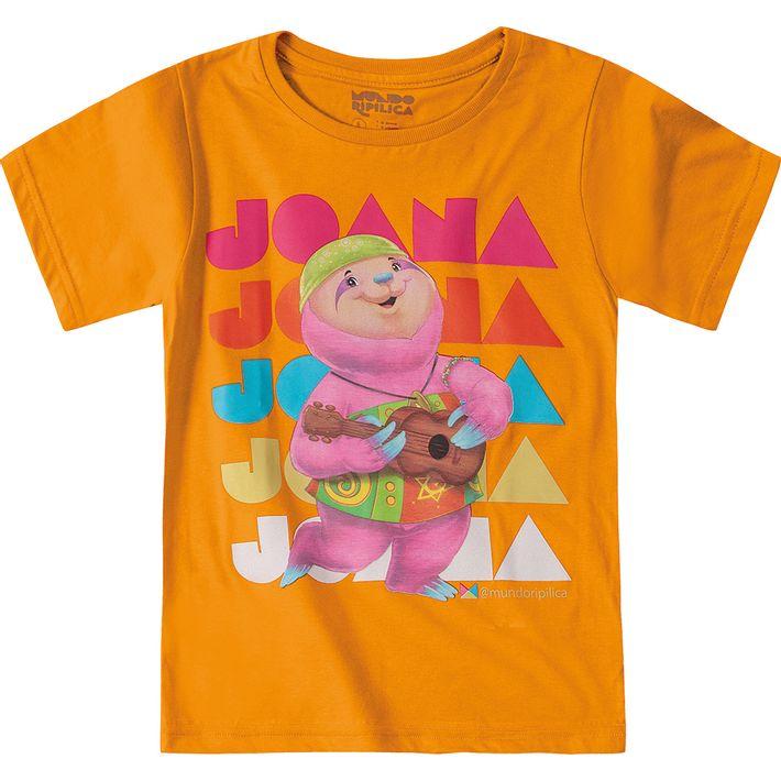 Camiseta-Mundo-Ripilica-Laranja-Menina-e-Menino