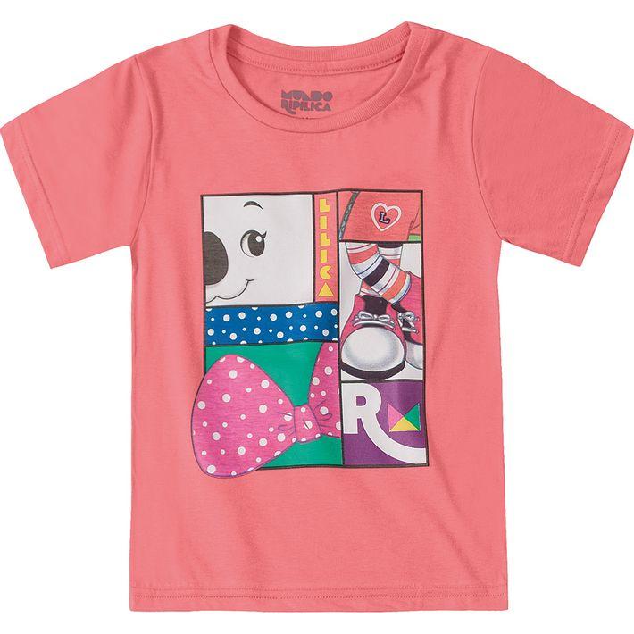 Camiseta-Mundo-Ripilica-Rosa-Menina-e-Menino