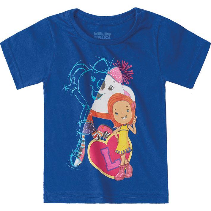 Camiseta-Mundo-Ripilica-Azul-Menina-e-Menino