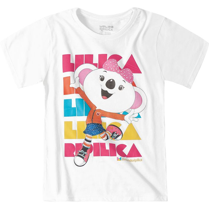 Camiseta-Mundo-Ripilica-Branca-Menina-e-Menino