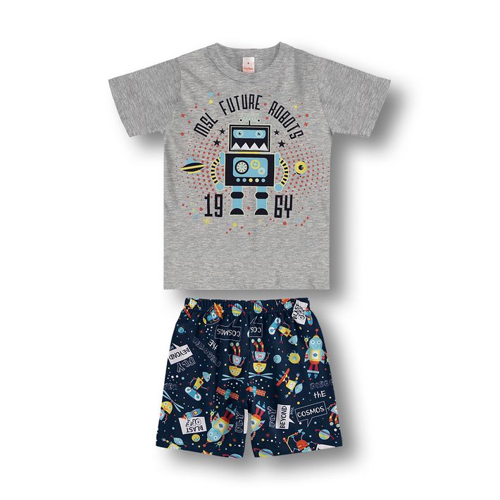 Pijama-Marisol-Cinza-Menino