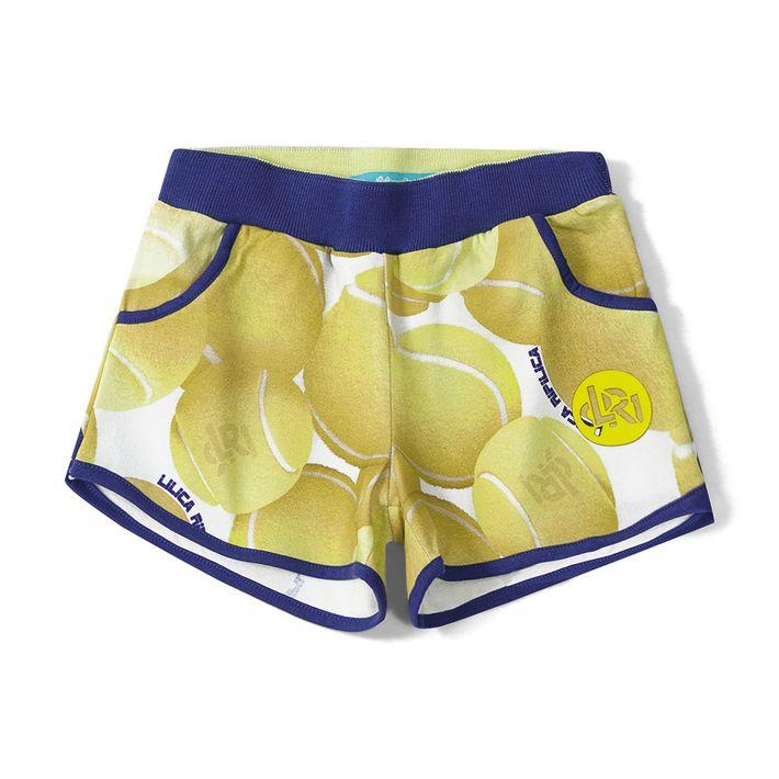 Short-Lilica-Ripilica-Amarelo-Menina