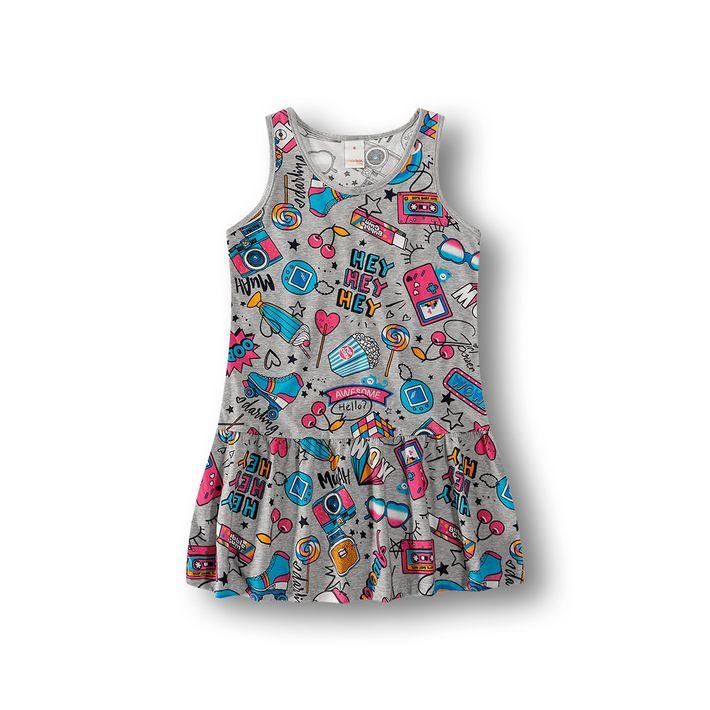 Vestido-Marisol-Play-Cinza-Menina
