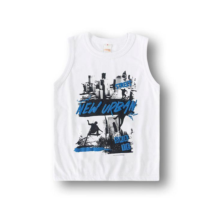 Camiseta-Regata-Marisol-Play-Branca-Menino