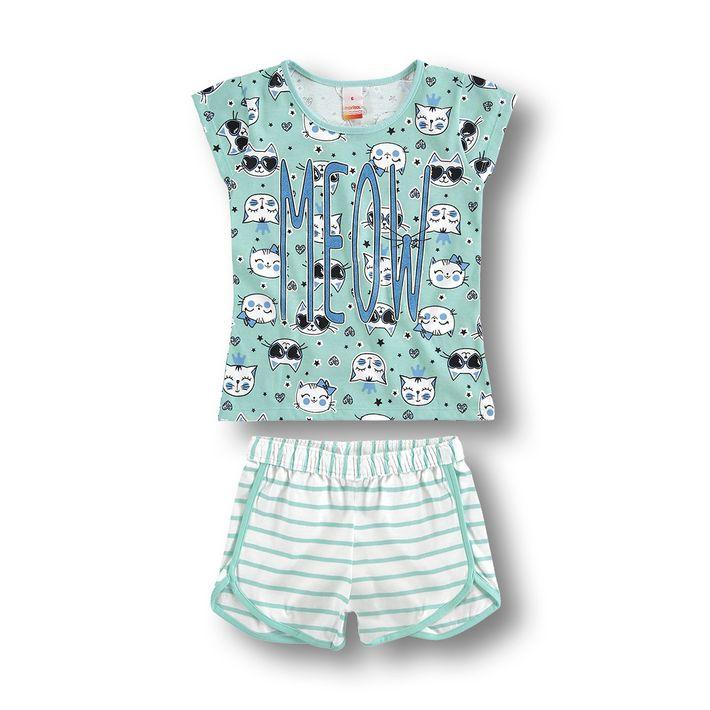 pijama-marisol-verde-menina
