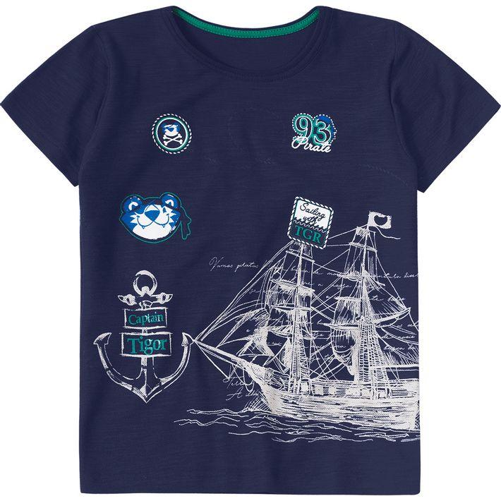 Camiseta-Tigor-Infantil-Menino---Azul