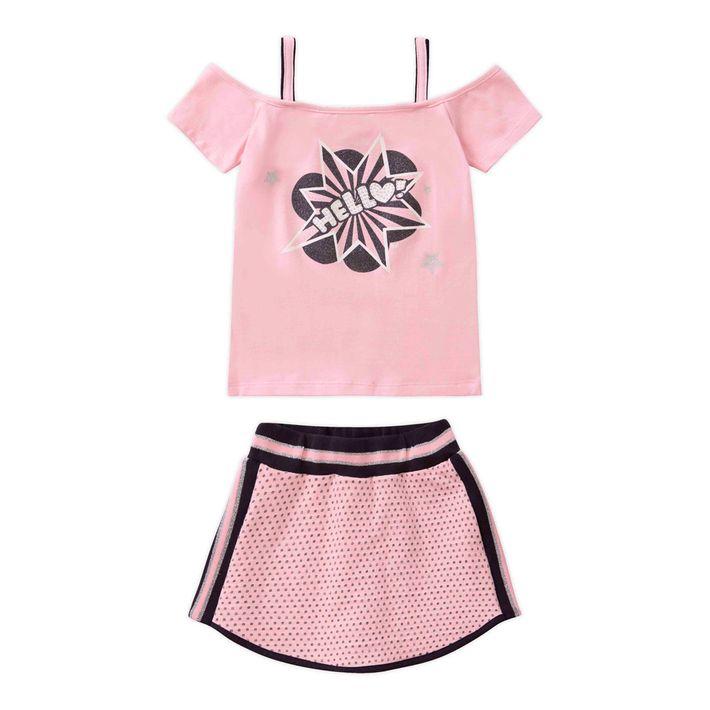 Conjunto-Infantil-Menina-Estampado---Rosa