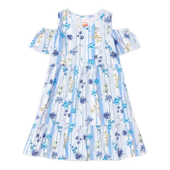 Vestido-Infantil-Menina-Com-Estampa-Floral---Azul
