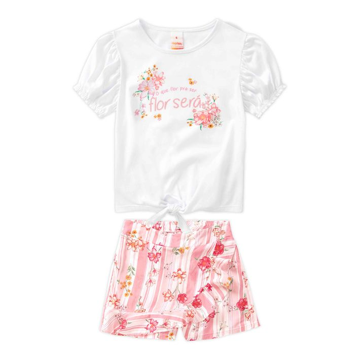 Conjunto-Infantil-Menina-Com-Estampa-Floral---Rosa
