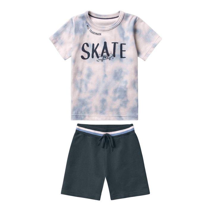 Conjunto-Infantil-Menina-Com-Estampa-De-Skate---Cinza