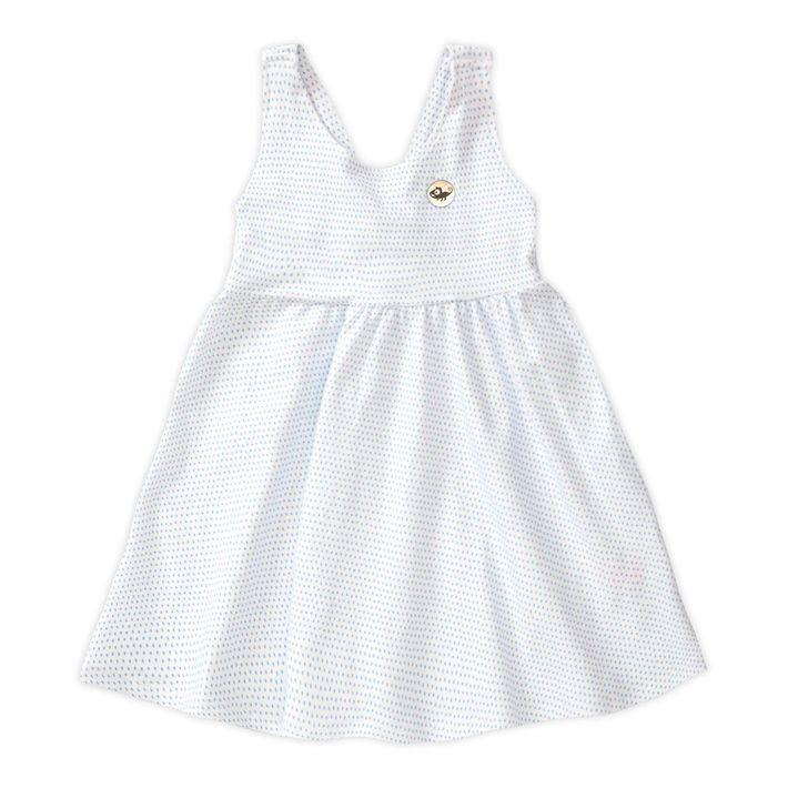 Vestido-Infantil-Menina-Com-Estampa-De-Bolinhas---Azul