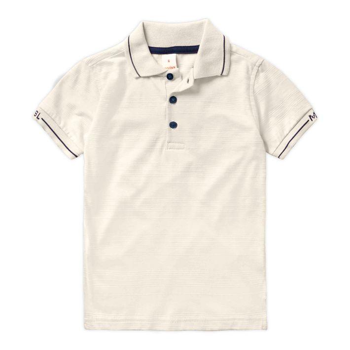 Camisa-Infantil-Menino-De-Algodao---Bege