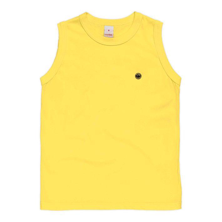 Camiseta-Regata-Infantil-Menino-Com-Relepencia-A-Insetos---Amarela