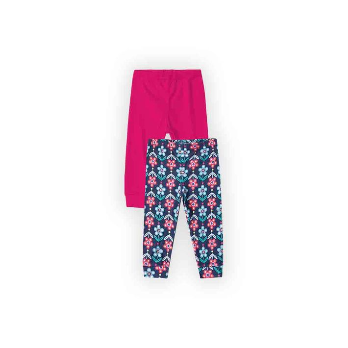 Kit-Calca-2-Pecas-Infantil-Menina-Com-Estampa-Floral---Rosa
