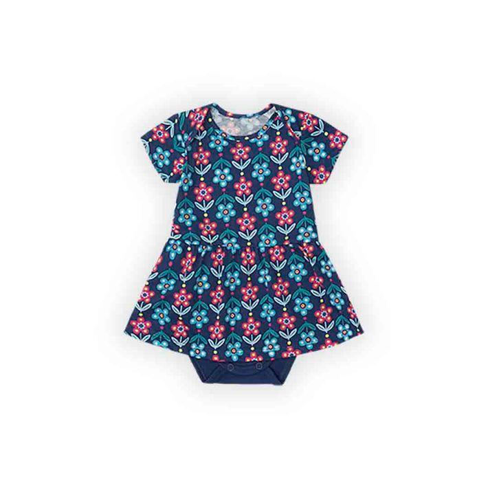 Body-Infantil-Menina-Com-Estampa-Floral---Azul