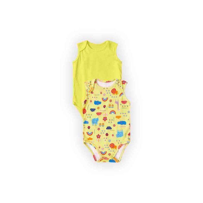 Kit-Body-2-Pecas-Infantil-Menina-Com-Algodao-100----Amarelo