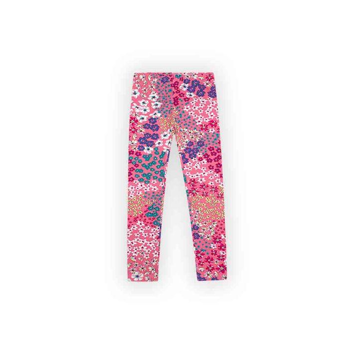 Calca-Legging-Infantil-Menina-Com-Estampa-Floral---Rosa