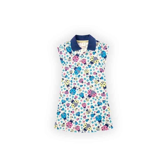 Vestido-Infantil-Menina-Com-Estampa-De-Joaninha---Bege